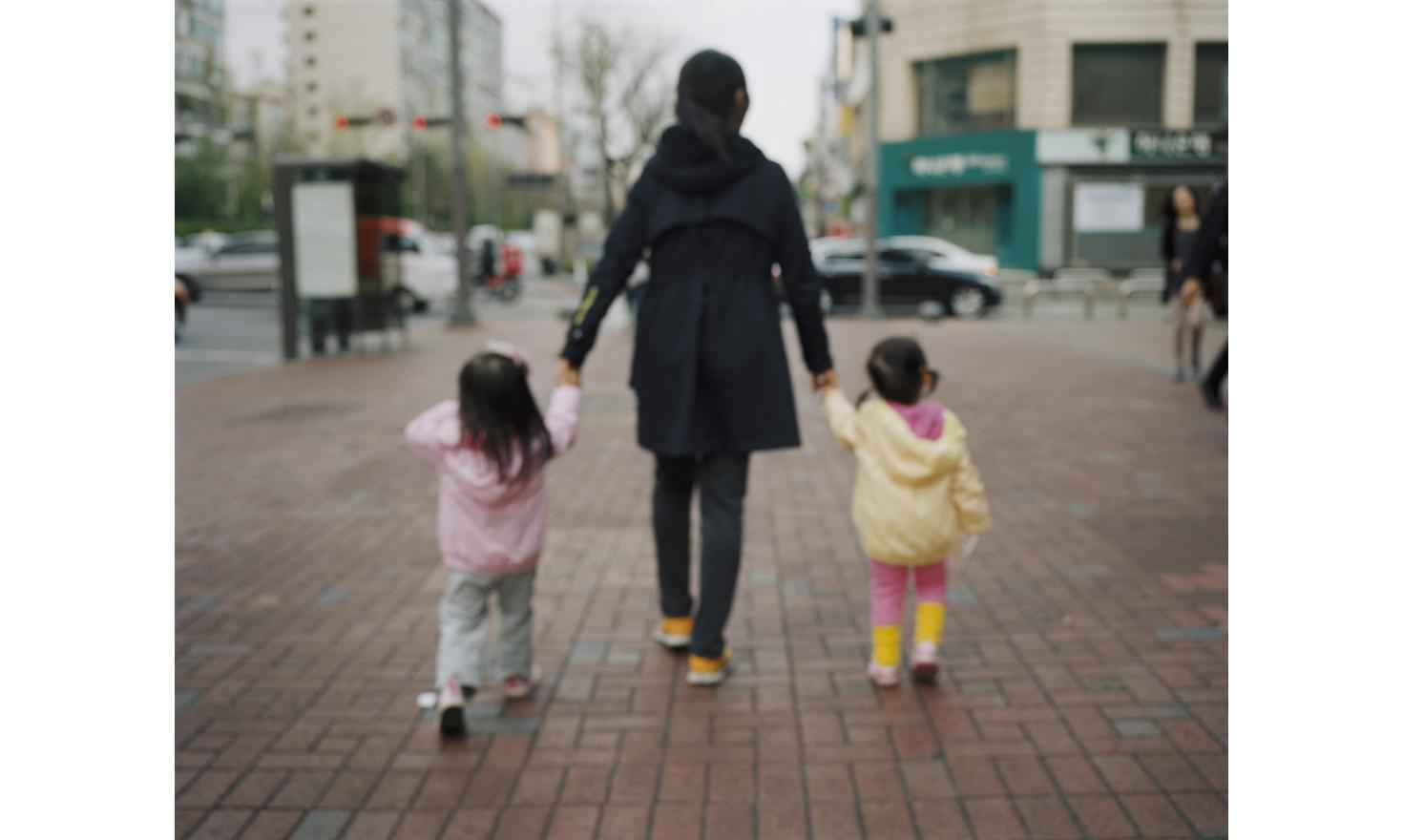 Street of Seoul, South Korea 4/27/2013. Fantasies of finding my birth family fading away