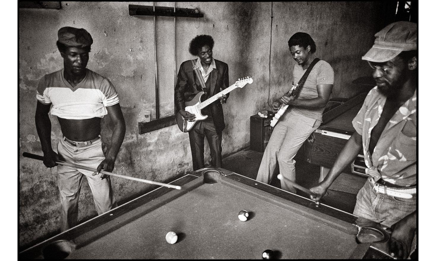 Blues music is born in the Mississipi River Delta amid cotton fields and poverty - 1986.