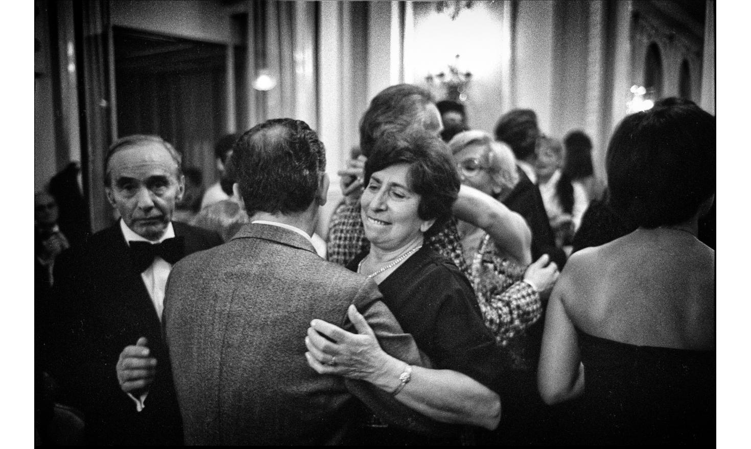 At the wedding of Véronique, my cousin, my parents dance together, but it looks more of a fight than anything else. My father finally win, with a big smile. Paris, november 1977.