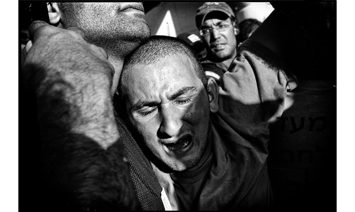 Evacuation of the  settlements of Gush Katif by the Israeli army. Gaza, August 2005.