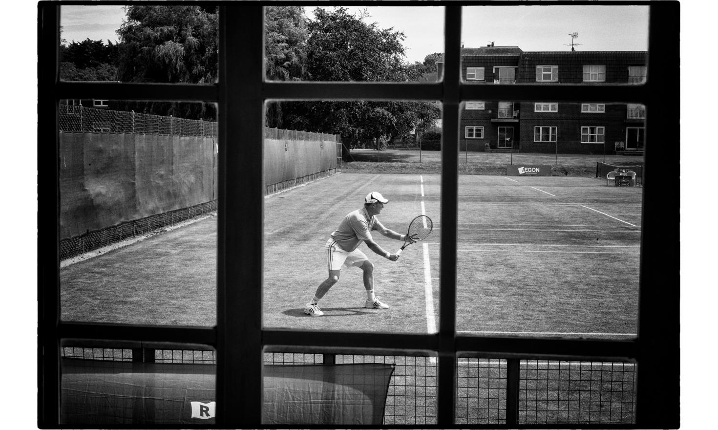 """Senoir final, tennis tounament in frinton, a very fancy toxn near Clacton. The Trending district has voted at 65% for the""""leave""""the EU. Frinton, England. July 2016"""