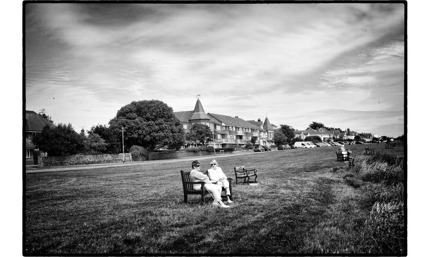 """Not far from Clacton , there is a very fancy town,Frinton. 65% of the Trending district has voted for the """"leave""""the EU. Frinton, England. July 2016."""