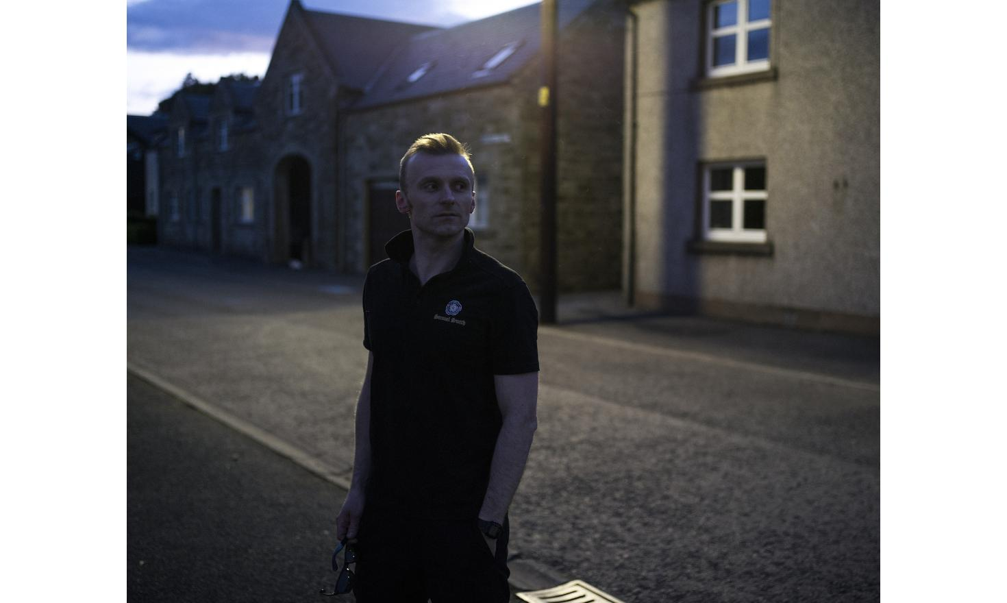 Tomasz Milkowski is the manager of one of the three pubs in Newcastleton, Scotland. He is a Polish immigrant who has been living in the UK for 14 years, and who has obtained British citizenship.