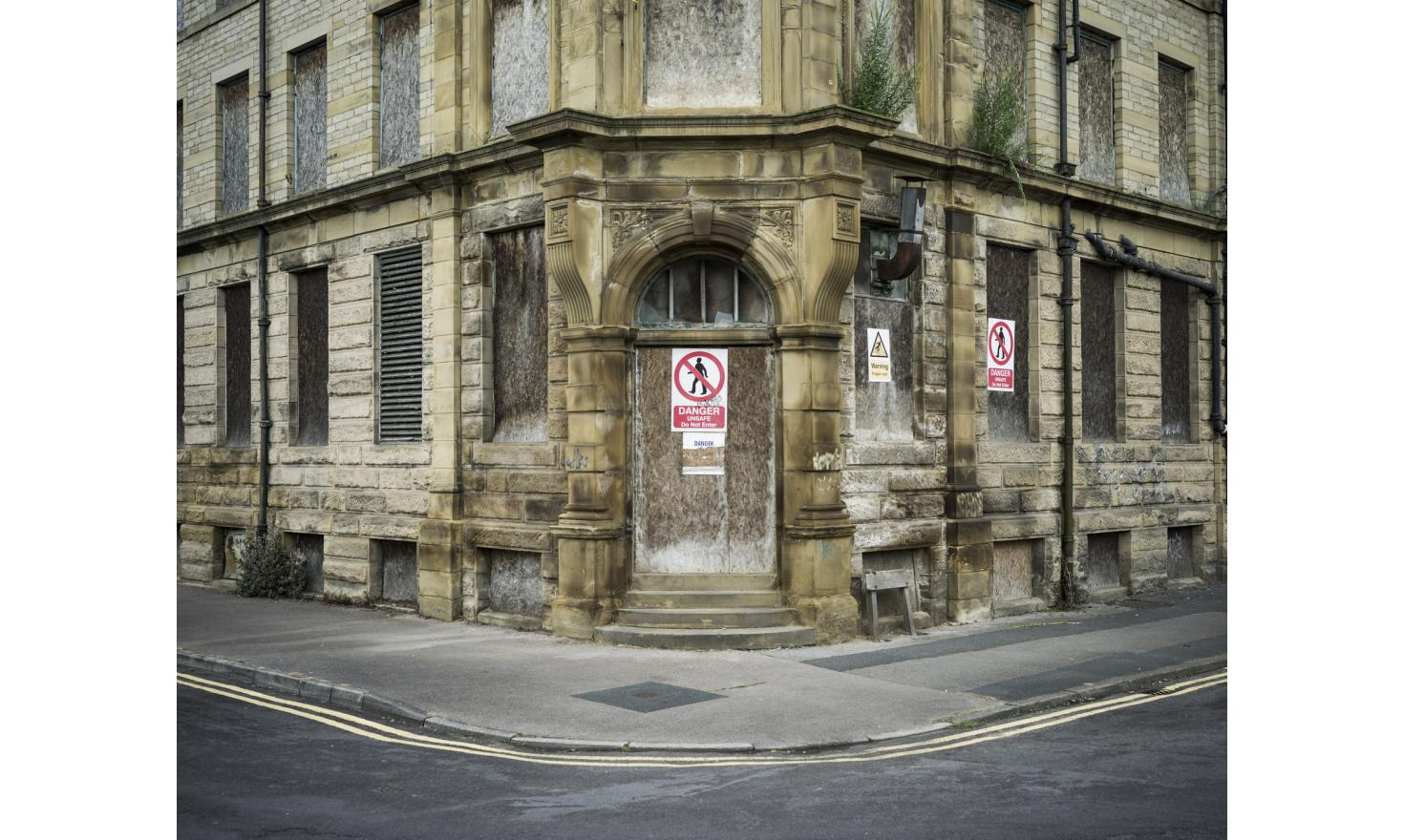 A former textile mill in the center of Bradford (Yorkshire). The town, a former Labour stronghold, voted overwhelmingly to leave the EU during the British referendum on EU membership.