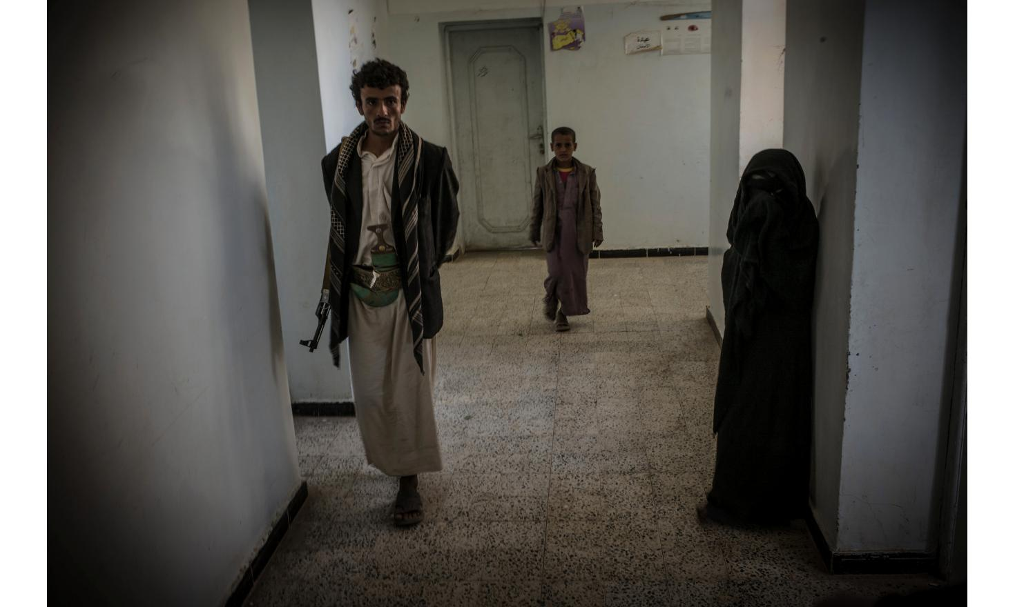 Hospital held by the Houthis