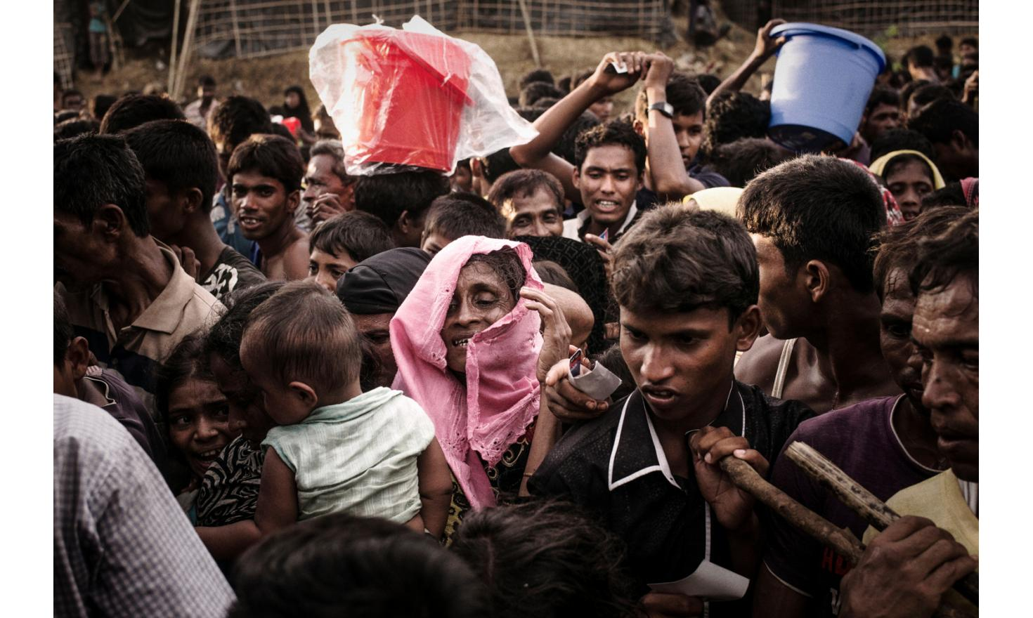 Hundreds of thousands of unregistered Rohingya refugees are  believed to live in Cox Bazar district , according to UN High Commissioner for Refugees estimates.