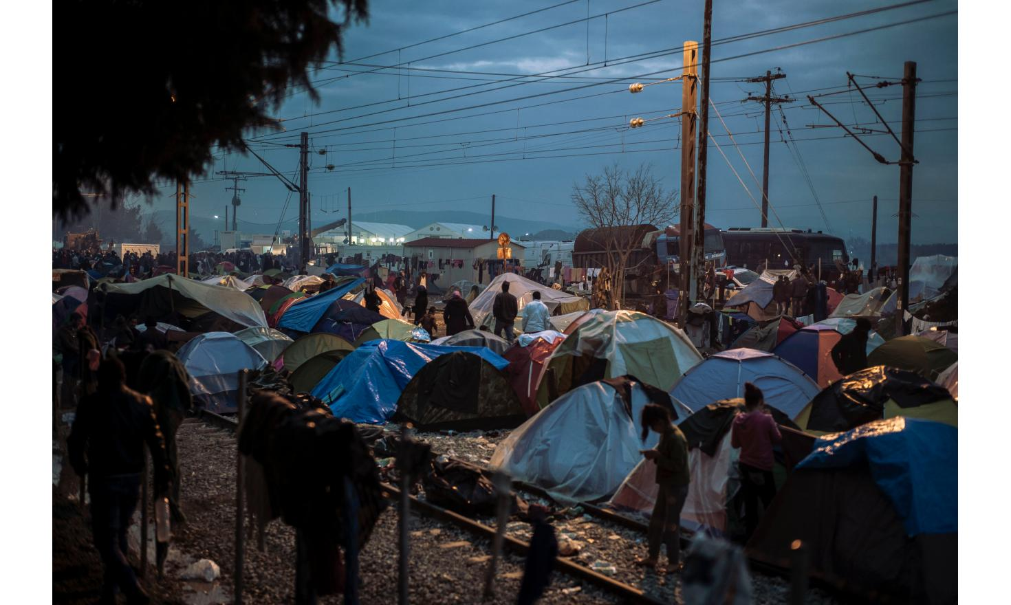 Idomeni refugees camp (macedonian border)
