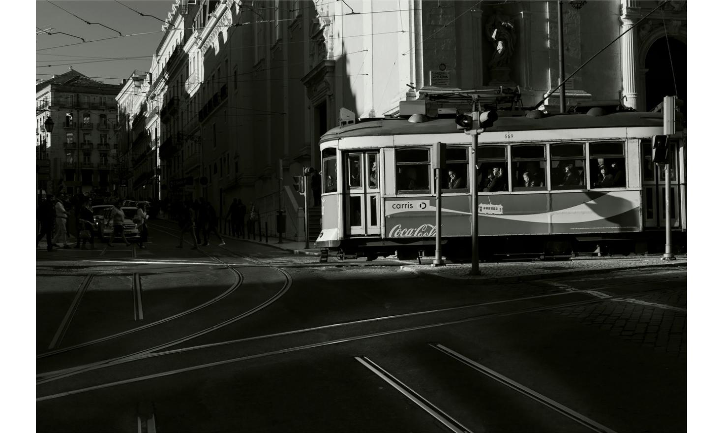 Tramway, Lisbon. April 2015