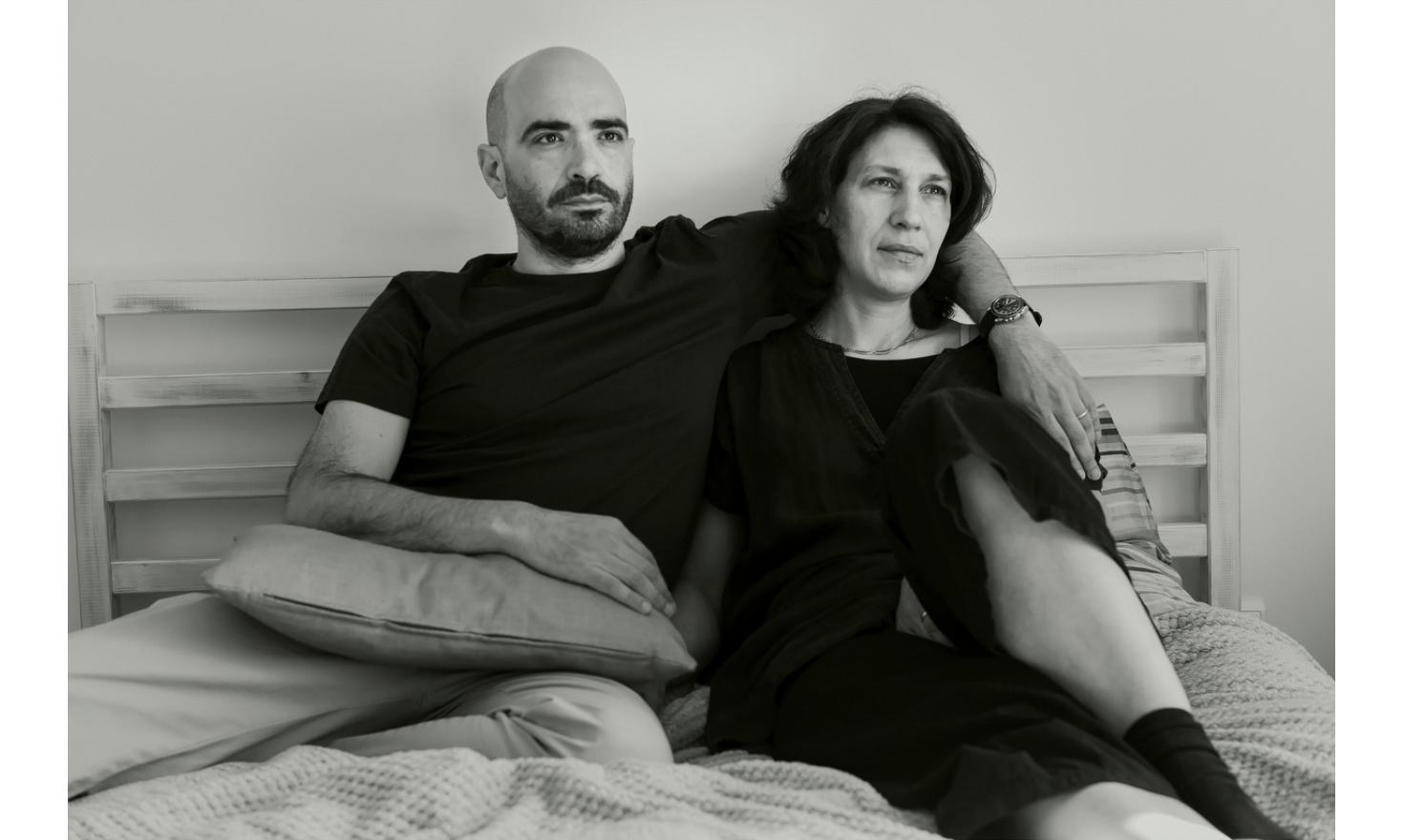 Geneviève and Julien, Lisbon. April 2015