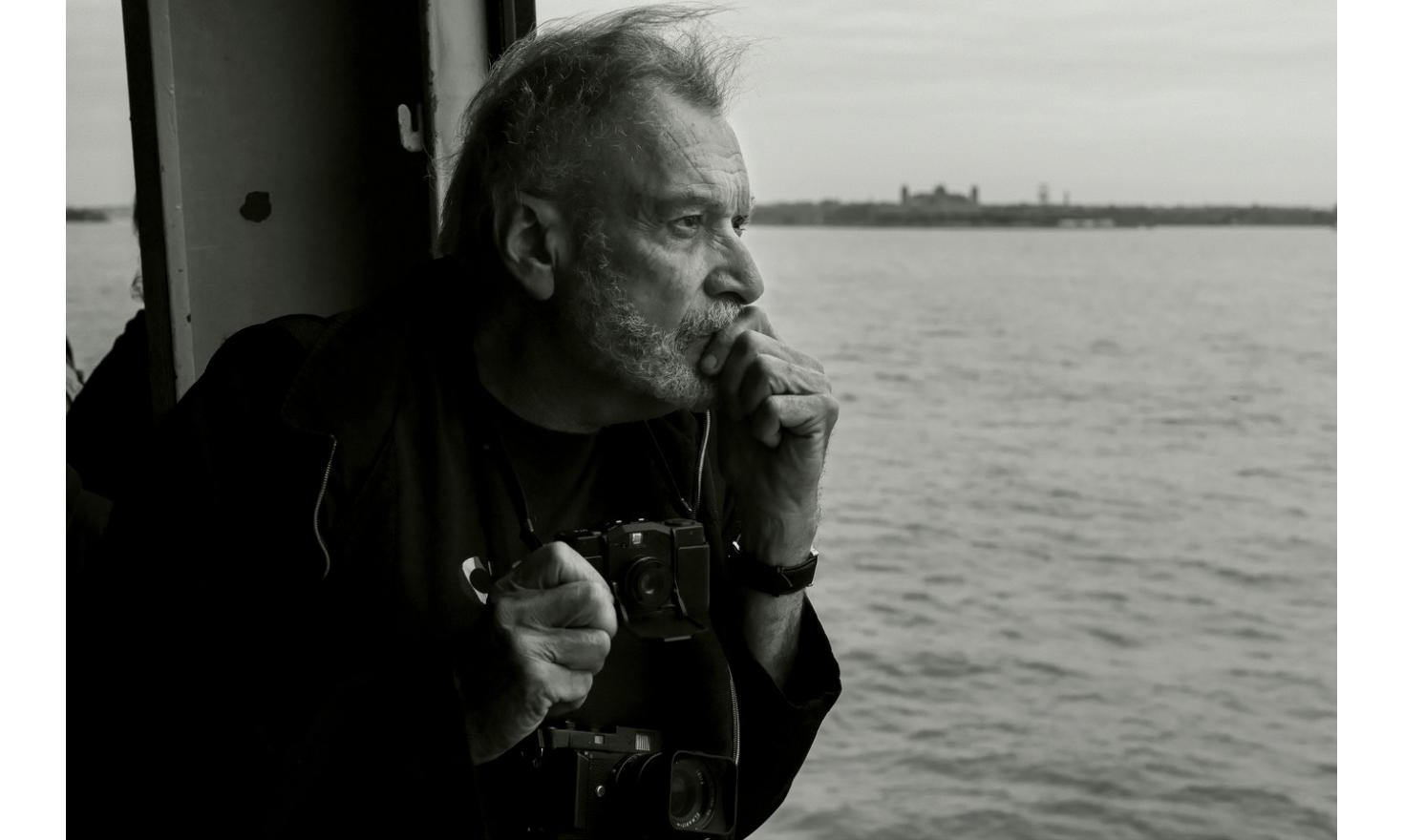 My father, Staten Island Ferry, New York. May 2015