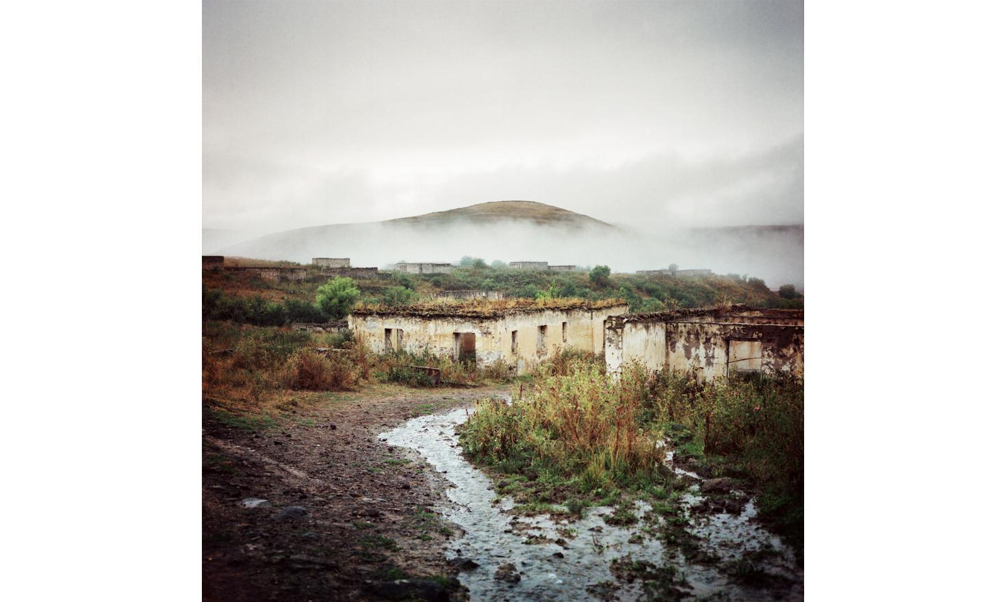 Hak, Kashatagh (Lachin) province. The village is one of the freed territories which was not landlocked to soviet Karabagh. Since then, the Armenians come to repopulate it. They found a non-occupied territory where the living conditions are very hard.