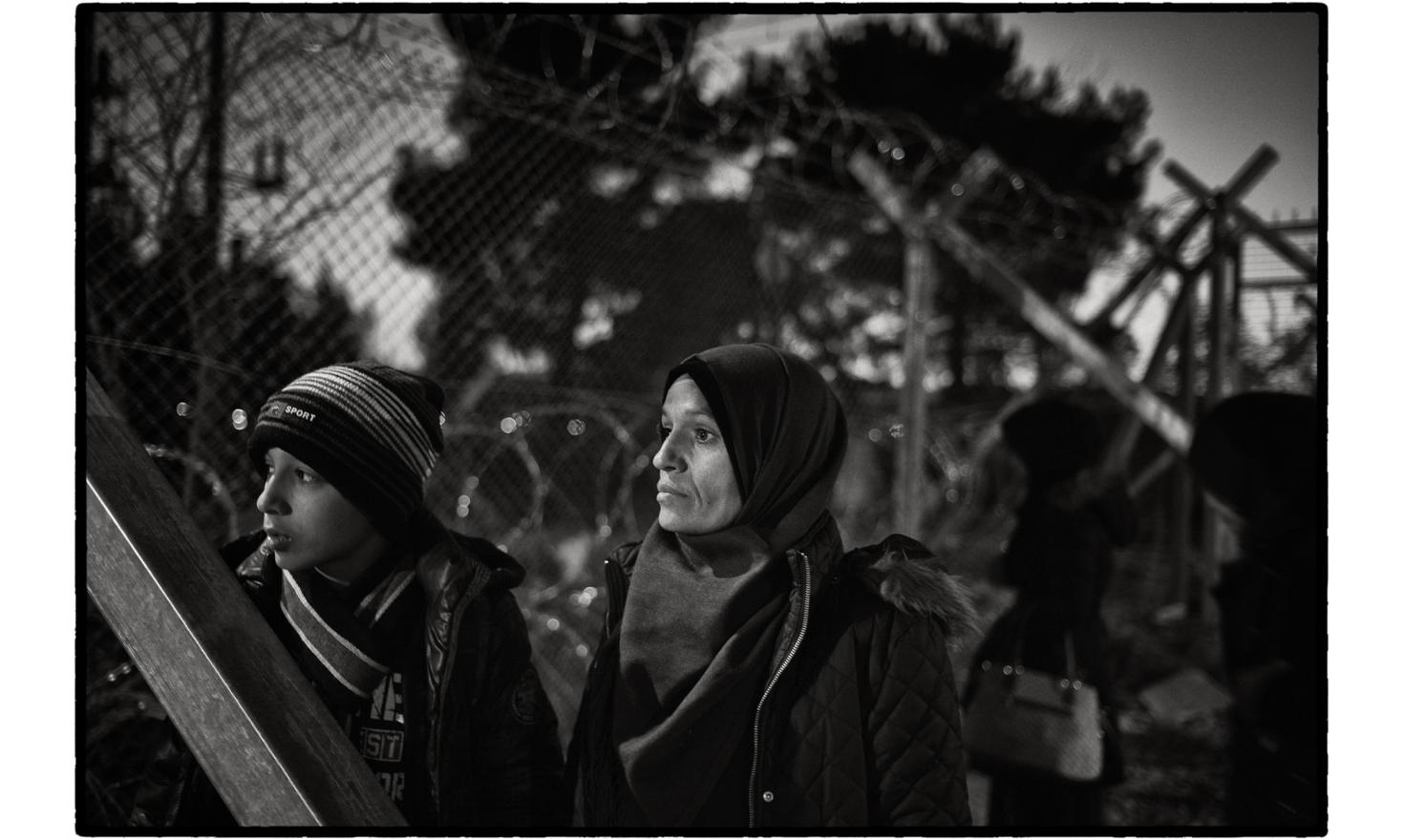 Gevgelija, border post between Greece and the Former Yugoslav Republic of Macedonia. Only refugees from countries at war (Syrians, Iraqis and Afghans) were allowed, not so long ago, to cross the border and continue their journey to northern Europe