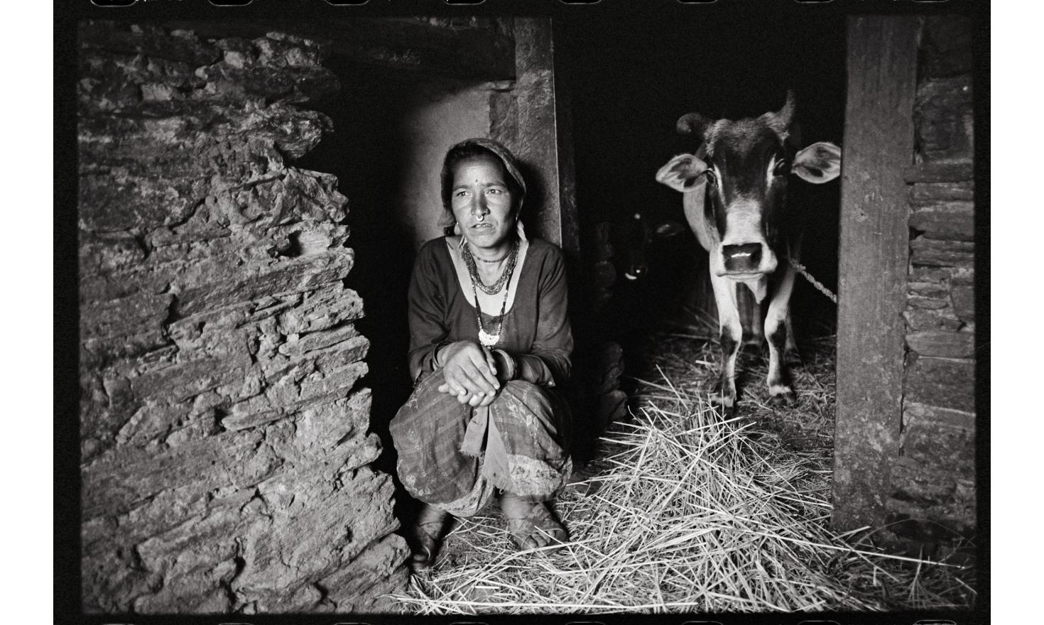 Dhant, Dadeldhura, Nepal. Considered as impure, they would otherwise bring down on the community the wrath of the gods. So like Dhauli, they pass their days in the stable or the sheepfold.