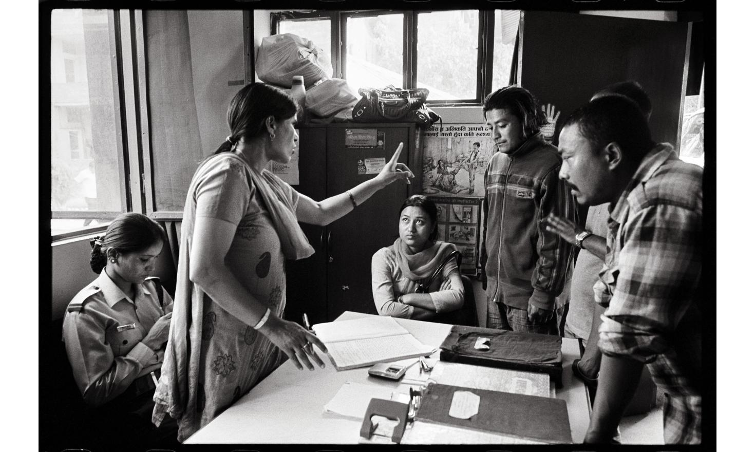 Kalimati, Kathmandu, Nepal.The Nepali government has created special units of female police in 23 out of its 75 districts. They help victims of violence to file a case. But these units get little support from the police hierarchy.