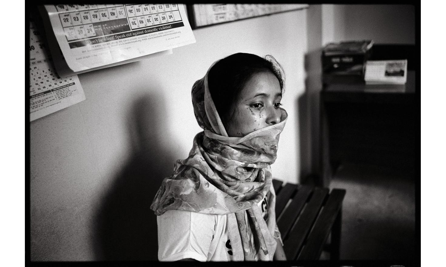 Kalimati, Kathmandu, Nepal. Nara Maya, 21, met the fiancé her family had chosen for her only 2 weeks before getting married. It was 3 months ago. Since then, she's been beaten up every day. Nara Maya has decided to get divorced.