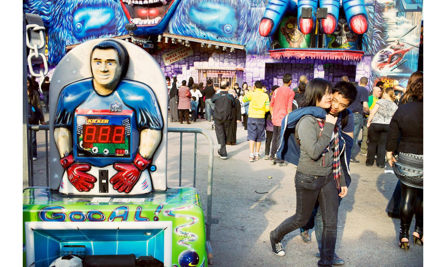 The funfaire of Trône, the most famous in France.